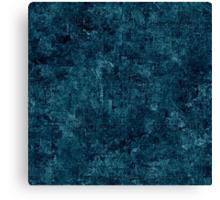Blue Coral Oil Painting Color Accent Canvas Print