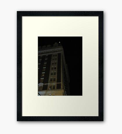 THE BENSON Framed Print