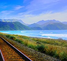 Line Along The Coast by Terry Everson