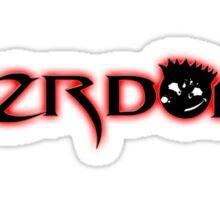 1st Hazrdouz shirt ever! Sticker
