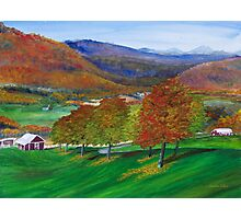 Autumn in the Catskills Photographic Print