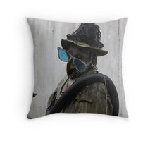 THE MAN THAT WATCHES  Throw Pillow