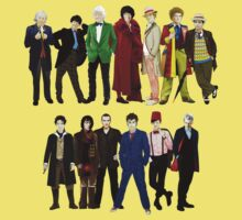 Doctor Who - The 13 Doctors Kids Clothes