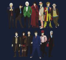 Doctor Who - The 13 Doctors One Piece - Long Sleeve