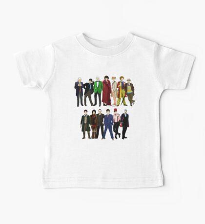 Doctor Who - The 13 Doctors Baby Tee