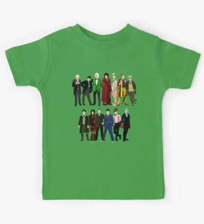 Doctor Who - The 13 Doctors Kids Tee
