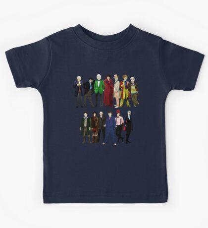 Doctor Who - The 13 Doctors Kids Tee