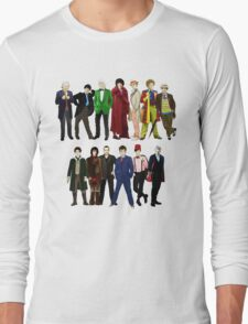 Doctor Who - The 13 Doctors Long Sleeve T-Shirt