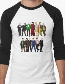 Doctor Who - The 13 Doctors Men's Baseball ¾ T-Shirt