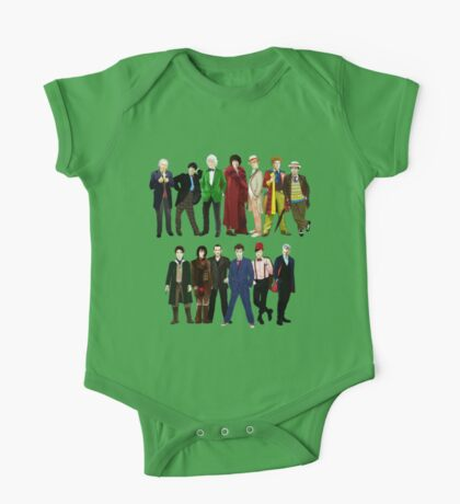 Doctor Who - The 13 Doctors One Piece - Short Sleeve