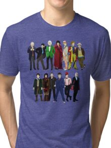 Doctor Who - The 13 Doctors Tri-blend T-Shirt