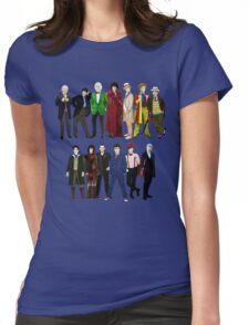 Doctor Who - The 13 Doctors Womens Fitted T-Shirt