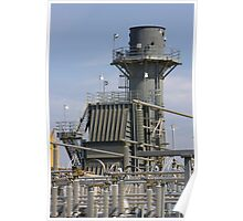 Zoned for Heavy Industry - Energy Plant Poster