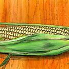 Fresh Corn on the Cob by bernzweig