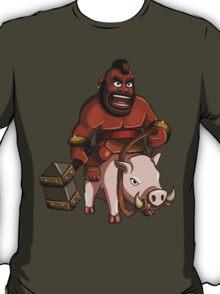 Hog Rider Clash of Clans Art T-Shirt