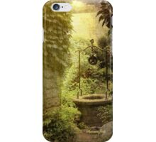 Wishing Well Outside the Garden Wall iPhone Case/Skin