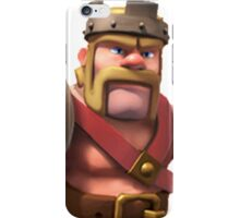 King Clash of Clans Art iPhone Case/Skin