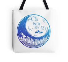 Save the Bats! Tote Bag