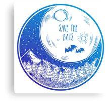 Save the Bats! Canvas Print