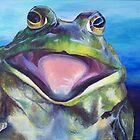 The Bullfrog by Dandelion Dilluvio