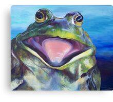 The Bullfrog Canvas Print