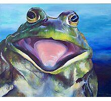 The Bullfrog Photographic Print