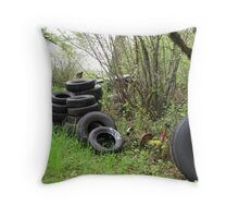 TIRES Throw Pillow