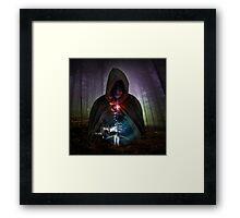 Warrior Warlock Framed Print