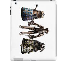 Destroyed Daleks and Rogue Cyberman iPad Case/Skin