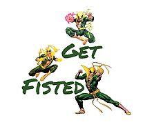 Iron Fist  by austygreen