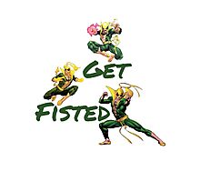 Iron Fist  Photographic Print