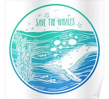 Save the Whales! Poster