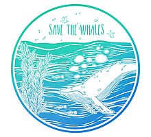 Save the Whales! Photographic Print