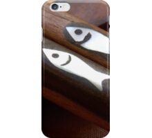 Playing With Chopsticks – Little Fish iPhone Case/Skin
