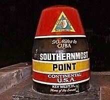 The Most Southern Point in the United States of American by Memaa