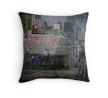Quiet night in Zurich... Throw Pillow