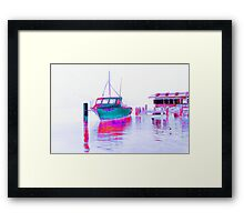 Fishing at Woy Woy 1.12 Framed Print