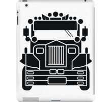 Philippines Jeepney Ride by AiReal Apparel iPad Case/Skin