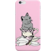 Kitten in a Teacup iPhone Case/Skin