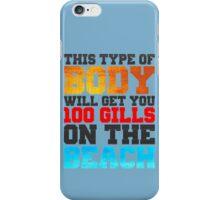 100 Gills iPhone Case/Skin