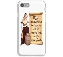 Myn Milkshake iPhone Case/Skin