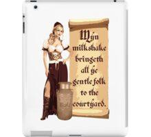 Myn Milkshake iPad Case/Skin