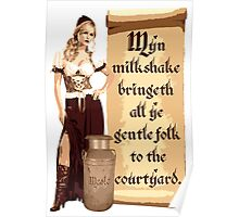 Myn Milkshake Poster