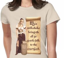 Myn Milkshake Womens Fitted T-Shirt