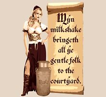 Myn Milkshake Womens Fitted T-Shirt