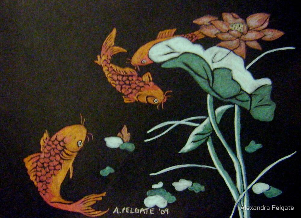 Chinese Goldfish by Alexandra Felgate