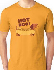 Hot Dog! Dachshund Unisex T-Shirt