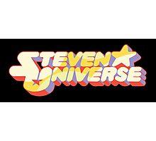 Steven Universe Text Photographic Print