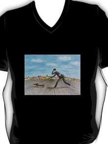 Walk with dog T-Shirt