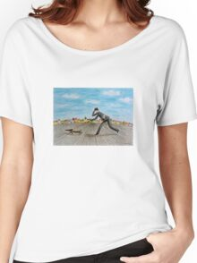 Walk with dog Women's Relaxed Fit T-Shirt